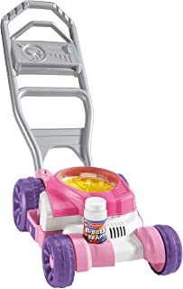 Burbuja corta césped de Fisher Price, color rosa