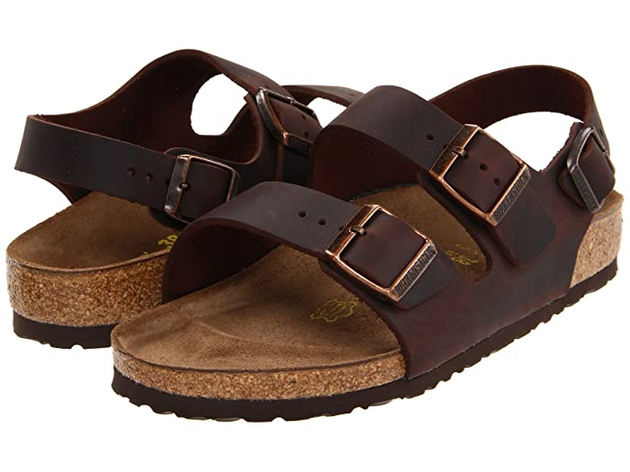 394e30df6e995 Birkenstock Milano - Oiled Leather (Unisex) at Zappos.com