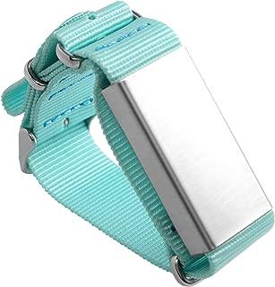 Slightly Robot Hand-Tracking Bracelet for Breaking - Teal Nylon - Model 2
