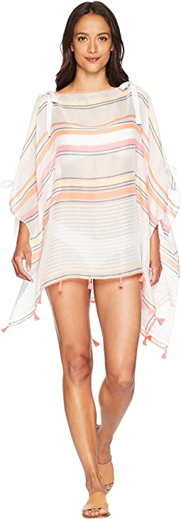 Vince Camuto Tie Shoulder Poncho Cover-Up