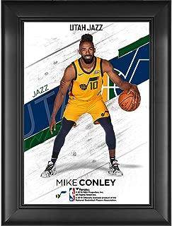 Mike Conley Utah Jazz Framed 5