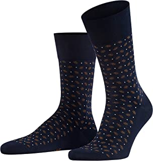 FALKE Men's Sensitive Jabot Socks Cotton Black Blue Red Extra-Thin Calf Sock With Soft Top Plain For All Occasions Work Or...