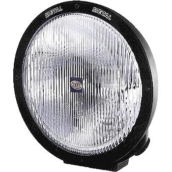 HELLA H12560021 Rallye 4000 Series 12V/100W Halogen Euro Beam Lamp - Black Housing