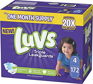 luv diapers size 4