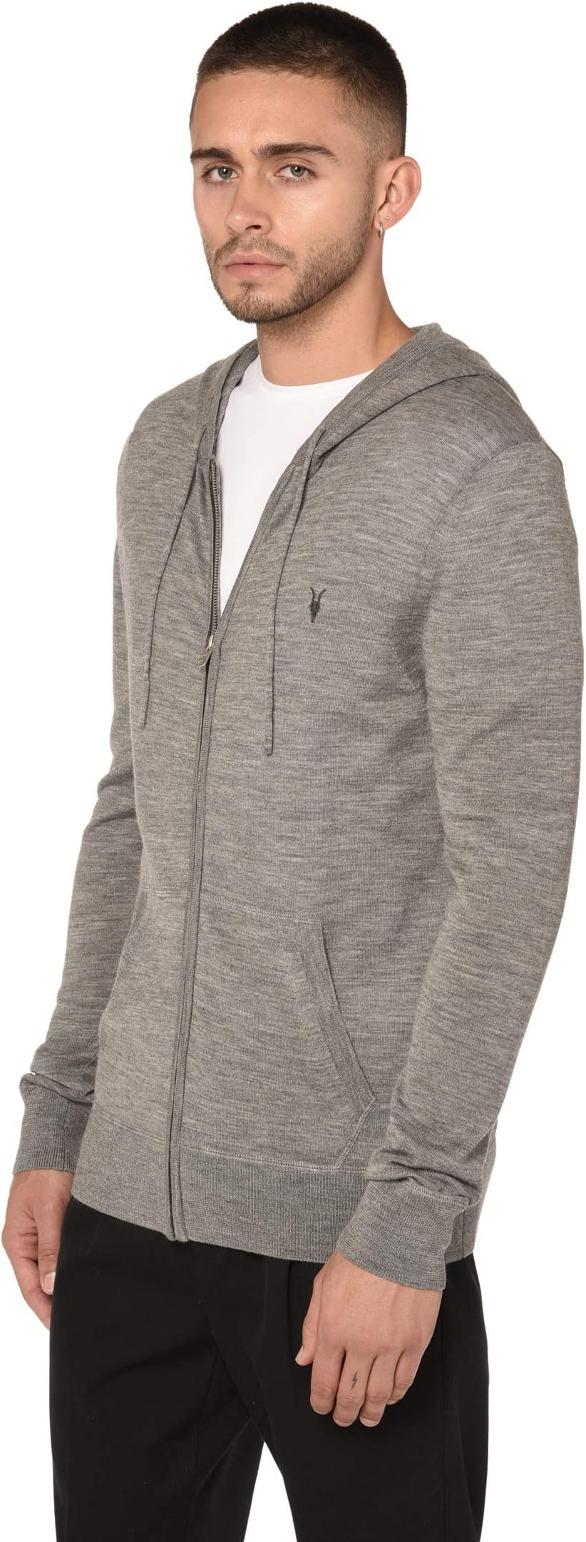 AllSaints Mode Merino Zip Hoodie Vj59W