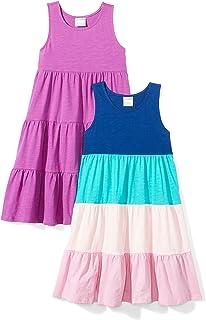 Amazon Brand - Spotted Zebra Girls' Knit Sleeveless...