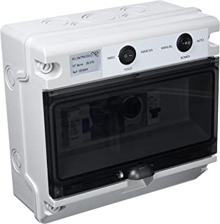 Productos QP Cuadro Electrico CD hasta 2 CV- 50W- Negro- 31x25x27 cm- CE3004