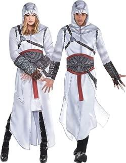 Party City Assassin's Creed Altair Accesorios de vestuario para adultos, talla única, incluye bata, capucha adjunta, cinturón