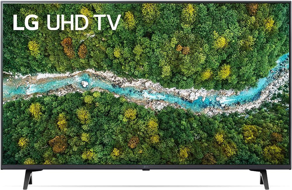Lg smart tv led 4k ultra hd 55 pollici 2021 con processore quad core 4k wi-fi webos 6.0 filmmaker mode 55UP77006LB.APID
