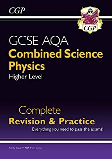 New 9-1 GCSE Combined Science: Physics AQA Higher Complete Revision & Practice (CGP GCSE Combined Science 9-1 Revision) (English Edition)