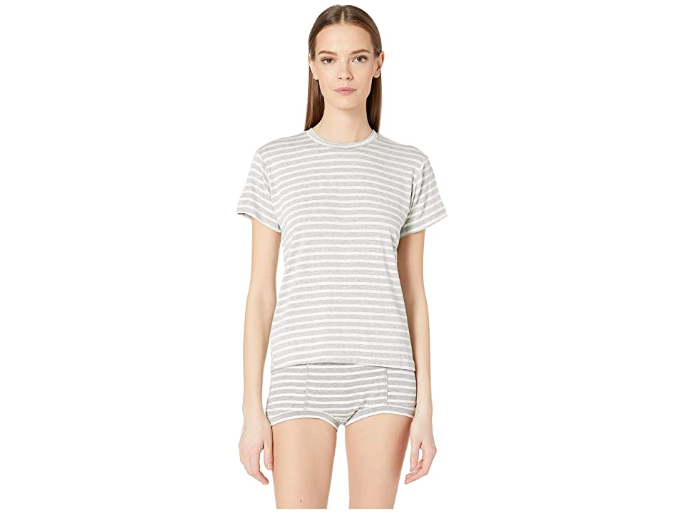 Maison Du Soir Luca T-Shirt (Grey Stripe) Women