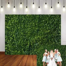 Art Studio 3D Green Leaves Wall Photography Backdrops Spring Nature Safari Party Decoration Outdoorsy Newborn Baby Shower Backdrop Wedding Birthday Photo Background Studio Props Booth Vinyl 9x6ft