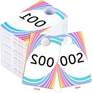 Best plastic number tags Reviews