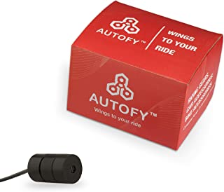 Autofy Bright Focus Universal Red Laser Gun/Red Warning Laser Gun Projector for Rear Or Back (for All Bikes & Cars)