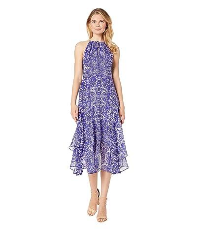 Nanette Lepore Handkerchief Dress (Blue Multi) Women