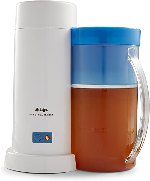 Mr Coffee 2 Quart Iced Tea Iced Coffee Maker Blue