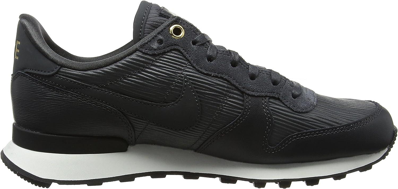 Nike W Internationalist PRM, Zapatillas de Running para Mujer Negro Anthracite Summit White Black Anthracite 012