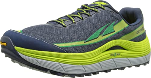 ALTRA OLYMPUS 2.0 BLEUE ET JAUNE Chaussures de trail homme