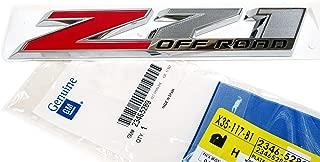 OEM NEW Right or Left Door Z71 Off Road Emblem Badge 14-17 Silverado 23465289