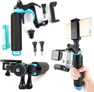 DURAGADGET Soporte/Mango Flotante con gatillo para Cámara de acción Nilox EVO 360 / EVO 4K / EVO 4K+ y Smartphones
