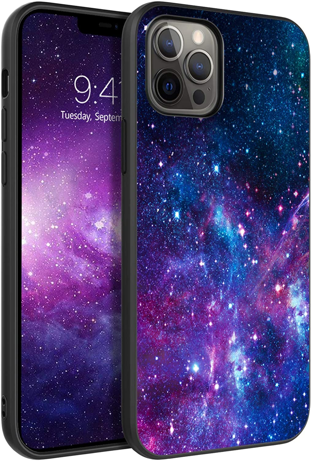 BENTOBEN Compatible with iPhone 12 Pro Max Case, Slim Fit Glow in The Dark Soft Flexible Shockproof Bumper Protective Cute Cases Compatible with Apple iPhone 12 Pro Max 6.7