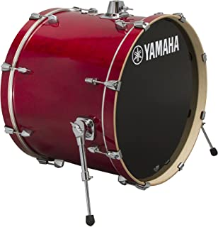Yamaha Stage Custom Birch 24x15 Bass Drum, Cranberry Red