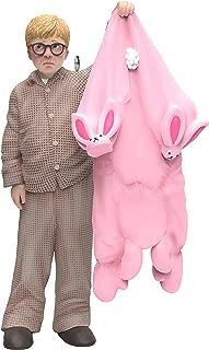 Hallmark Keepsake Ornament 2019 Year Dated A Christmas Story Ralphie Gets a Gift Pink Bunny Pajamas, 11