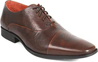 VITO ROSSI MEN'S BROWN SHOES - 12 UK