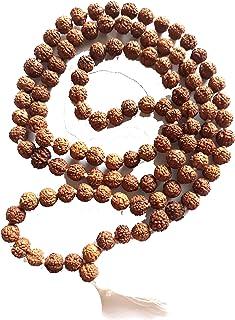 6 Mukhi rudraksh mala 108+1 Beads