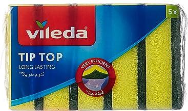 اسفنج فوم متوسط لغسيل الصحون تيب توب من فيليدا - 5 قطع