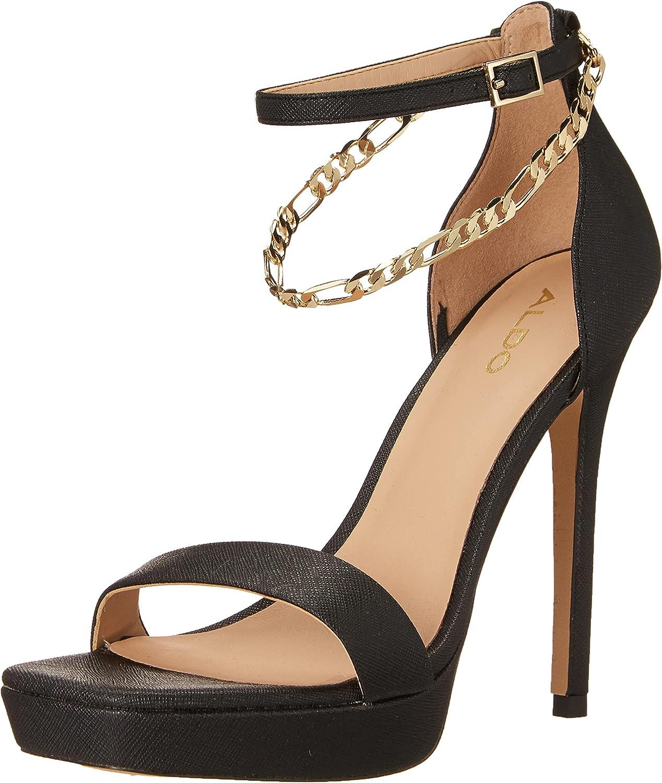 Finally popular brand ALDO Women's Sales Scarlettchain Heeled Sandal