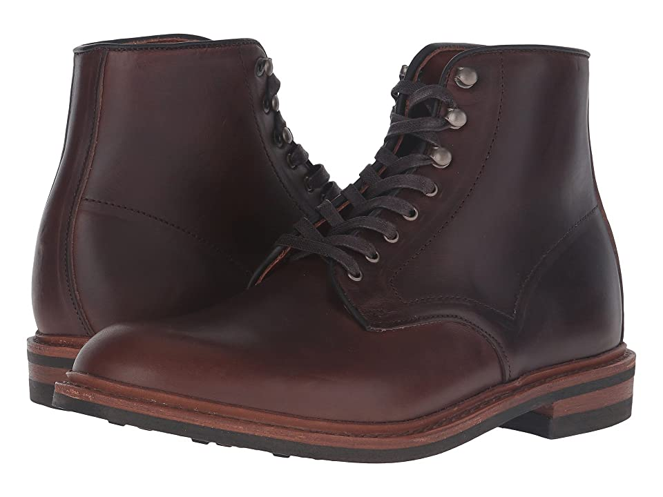 1920s Style Mens Shoes | Peaky Blinders Boots Allen Edmonds Higgins Mill Brown Mens Boots $394.95 AT vintagedancer.com