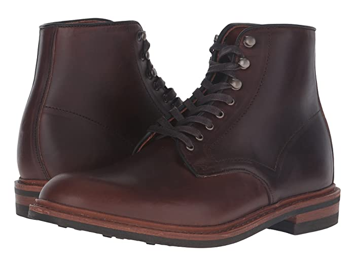 1940s Men's Shoes: Men's Vintage Shoe History Allen Edmonds Higgins Mill Brown Mens Boots $424.95 AT vintagedancer.com