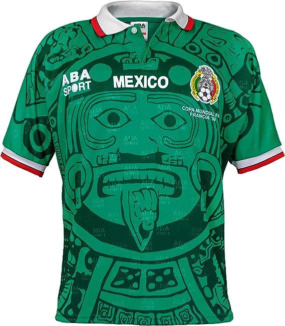 ABA Sport Jersey México Mundial Francia 1998: Amazon.com.mx: Ropa, Zapatos  y Accesorios