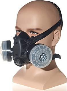 HXMY Anti-Dust Paint Respirator Reusable Face Mask