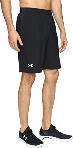 "UA Launch Stretch Woven 9"" Shorts"