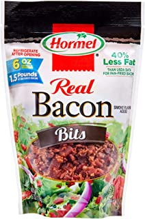 Hormel Real Bacon Bits, 6 Ounce Pouch (Pack of 6)