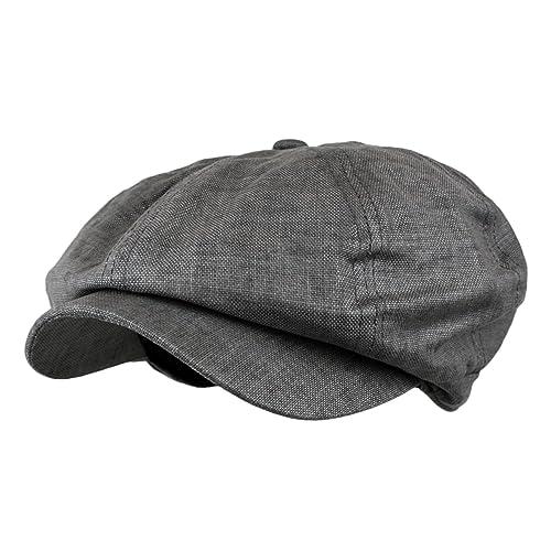 Wonderful Fashion Men s Linen 8 Panel Applejack Gatsby newsboy IVY Hat 642e92770d53