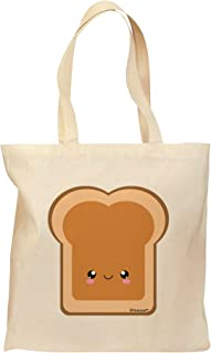 TooLoud Cute Matching Design - PB and J - Peanut Butter Grocery Tote Bag - Natural