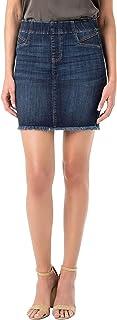 Liverpool Women's Cat Eye Pocket Pull-On Skirt