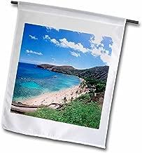 3dRose fl_89651_1 حمام هانوما، اوهاو، هاواي، الولايات المتحدة الأمريكية- الولايات المتحدة 12 DPB0807-Douglas Peebles Garden Flag، 30.48 سم في 45.72 سم