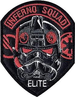 Limited Edition Inferno Trooper Battlefront Star Wars Celebration Inspired Art Patch