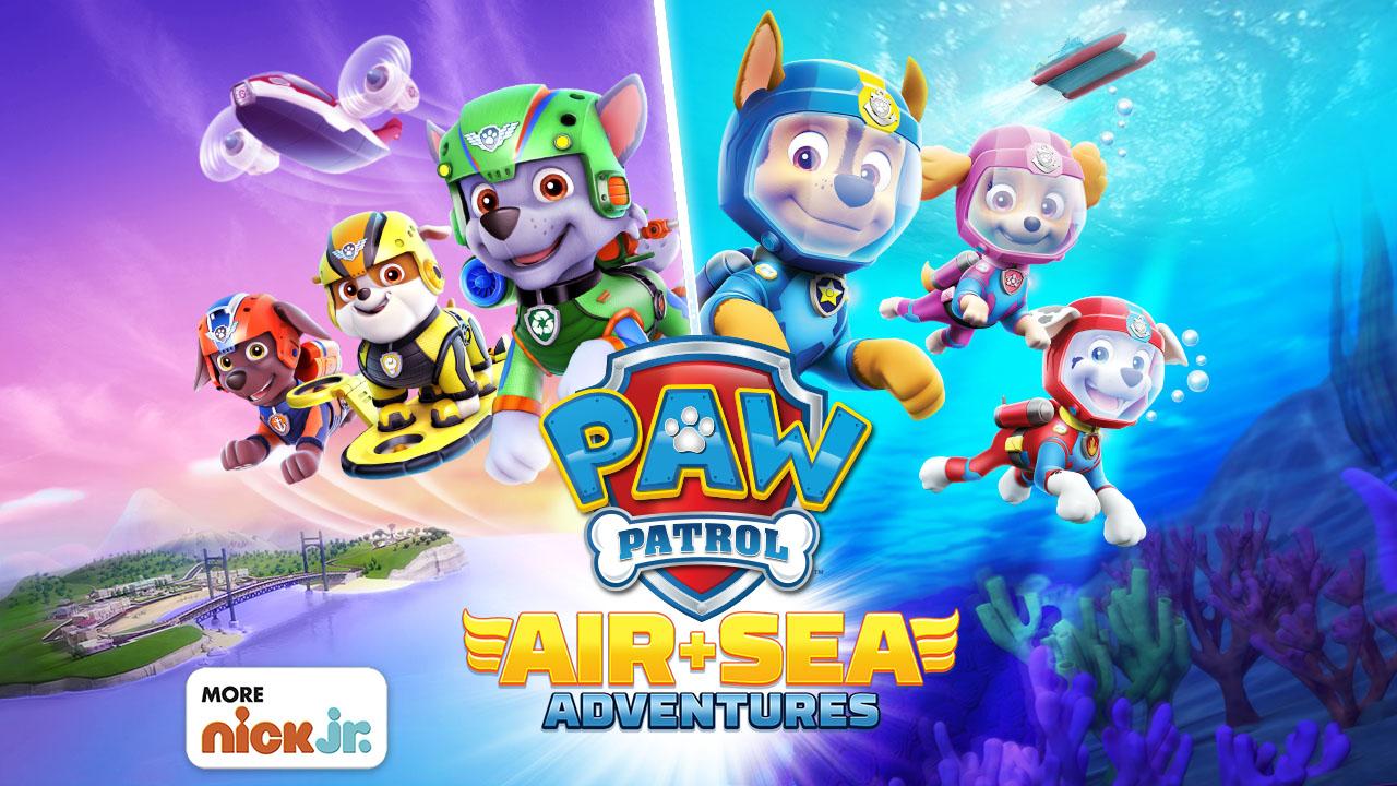 PAW Patrol Air and Sea