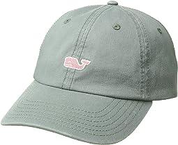 Suede Logo Baseball Hat