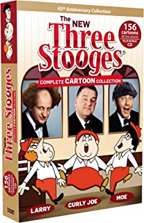 The New Three Stooges: Complete Cartoon Collection