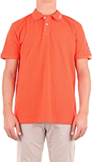 SUNSTRIPES Luxury Fashion Mens LUCIOARANCIO Orange Polo Shirt | Season Outlet