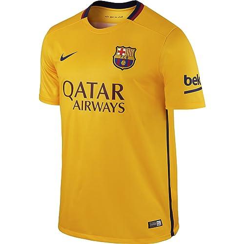 ... 3eae5a9c07e Nike FC Barcelona Away Stadium - Camiseta de mangas cortas  para hombre 41240ab67e163