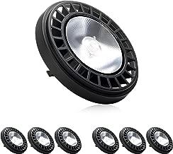 (6 Pack) Parmida LED PAR36 Bulb, 15W (100W Equivalent), IP65 Wet Location Rated, Landscape Garden Well Light, 12V AC/DC, 1000lm, 5000K (Day Light)