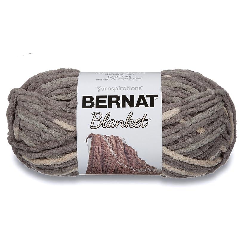 Bernat Blanket Yarn, 5.3 oz, Silver Steel, 1 Ball