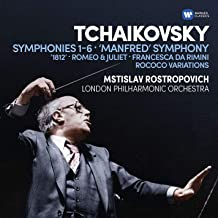 Tchaikovsky Symphonies 16 6Cd